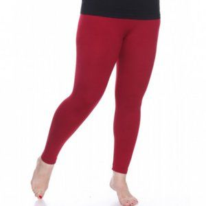 White Mark Plus-size Super-stretch legging